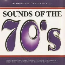SOUNDS OF THE 70'S - V/A 2CDs (NEW) Hits Feat Boney M ELO Chic Slade Sweet 10CC