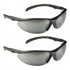 2 Pack: MSA Safety Works Contoured Adjustable Tinted Safety Glasses