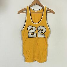 VTG 50s 60s Southern Athletic Basketball Jersey Youth SZ M Sewn Pre Russell