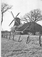 B99132 niederdeutsche windmuhle germany  real photo  windmill mill moulin a vent