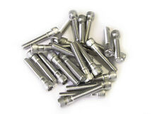 """25 Stainless Steel Bolts for rock climbing holds (2"""" long) NEW"""
