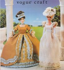 """Vogue 9867 645 11.5"""" Fashion Doll Pattern Vintage Historical Versailles by Carr"""