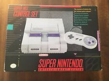 NEW NEVER USED SNES SUPER NINTENDO SYSTEM CONSOLE CONTROL SET (NTSC-US/Canada)