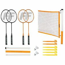 Franklin Sports Classic Badminton Set, Full Kit Includes Net, Hardware, Rackets