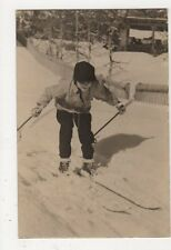 Switzerland, Skiing RP Postcard, B362
