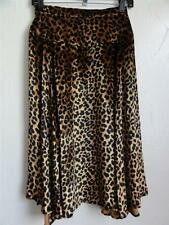 MARC BY MARC JACOBS SPHINX SPOTTED VELVET SKIRT, Brown Multi, Size 2, MSRP $428