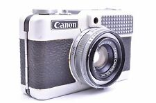 Canon Demi S Film Camera w/Lens 30mm 1:1.7 Seiko Sold AS IS From JAPAN