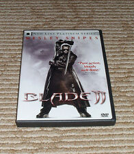 Blade II (DVD, 2002, 2-Disc Set) Complete in Excellent Condition! Wesley Snipes!