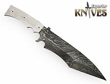 Knives Exporter Black Smith Custom Damascus Steel Survival Fix Blade Blank Knife