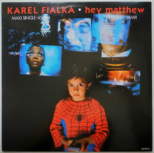 """12"""" NL**KAREL FIALKA - HEY MATTHEW (EXTENDED REMIX) (I.R.S. RECORDS '87)***23934"""