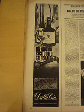 PUBBLICITA' ADVERTISING WERBUNG 1967 GRAPPA DALLA CIA AZZANO DECIMO (DC52)