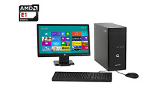 "PC de bureau HP COMPAQ 100-110EFM Ecran LED 20"" 1,4 GHz 1To 4Go Radeon HD 7310"