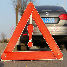Car Rear Warning Board Stop Vehicle Danger Reflective Safety Triangle Sign