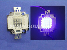 10W UV LED high power led lamp light 410-415nm 60Lm purple led 900mA 10-12V