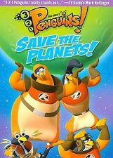 3-2-1 Penguins: Save the Planets! (DVD, 2008) NEW!