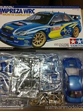 Tamiya (No.281) 24281 1/24 Subaru Impreza WRC Monte Carlo '05 Car Model Kit