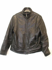 MEN`S REAL LEATHER JACKET in BLACK COLOUR from WILSONS LEATHER SIZE S (M-25)