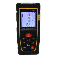 100M/328FT Digital LCD Laser Distance Meter Range Finder Measure Diastimeter UK