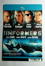 THE INFORMERS THORNTON BASINGER RYD MOVIE MINI POSTER BACKER CARD (NOT a movie )