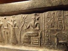 Sumerian cylinder seal impression replica - VA 243 - constellation of Pleiades