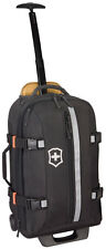 "Victorinox Ch-97 2.0 Collection 22"" Expand U.S. Carry On Wheeled Backpack Black"