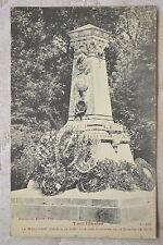 """CPA """" TOUL - Le Monument élevé à la mémoire des Victimes de la Guerre de 1870-71"""