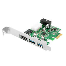 2 Ports USB 3.0 + eSATA 3.0 + SATA 3.0 + Pin Combo PCI-E Card Adapter 6.0Gbps