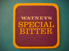 UK Beer Coaster Mat ~ Stag Watney Mann Watneys Special Bitter *** Closed in 1979