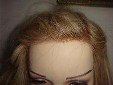 BNIB ELLEN WILLE PURE POWER HUMAN HAIR WIG -EMOTION -SANDY BLONDE ROOTED