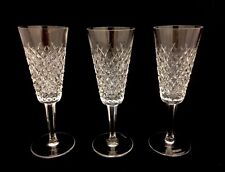 Set of 11 Waterford Crystal ''Alana'' Champagne Flutes