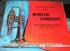 Lincoln High School Sioux Falls SD PRIVATE JAZZ CONCERT BAND LP JAZZ FUNK ROCKY