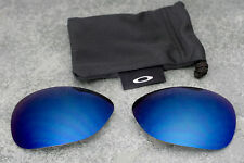 Genuine Oakley New Ti Crosshair Titanium Polarized Ice Iridium Blue Lenses + Bag