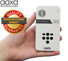 AAXA LED Pico Pocket Projector w/ qHD Resolution - Ultra Portable (NEW)