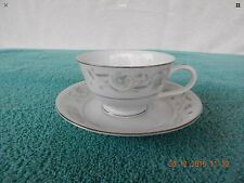 Beautiful Fine China  of Japan English Garden 1221. Footed Cup & Saucer (12)