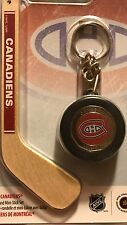2009 MONTREAL CANADIENS NHL $1 Coin Hockey Mini-Puck And Mini-Stick Key Chain