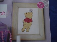 ADORABLE BUTTERFLY KISS FOR DISNEY WINNIE THE POOH CROSS STITCH CHART