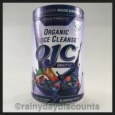 OJC PURITY PRODUCTS Organic Juice Cleanse Whole Food | Blueberry Detox 8.82oz