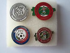 b1 lotto 4 spille PORTO RICO football federation association team pins lot