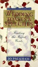 Wedding Toasts & Speeches: Finding The Perfect Words