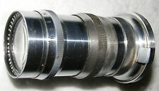 Carl Zeiss,Sonnar, F4,13.5cm, Contax I&II R/F bayonet fit Tele lens with Finder.