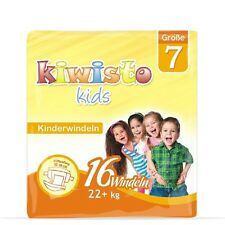 kiwisto KIDS Kinderwindeln Größe 7 - Einzelpackung