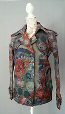 DESIGUAL Jacke Jacket Blazer Coat Gr. 38 Echter Hingucker