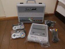Nintendo Super Famicom (NTSC-J) + Games Set & Carry Case