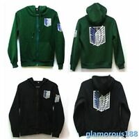 Hot Attack On Titan Anime Survey Legion Hooded Sweatshirt Cosplay Hoodie Jacket