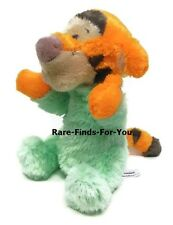 """Disney Parks Exclusive Premium Tigger Baby Rattle Soft Plush Doll Toy 9"""" H (NEW)"""