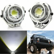 2pcs 10W 12V LED Work Light Spot Road Motor Car Tractor Boat Fog Spotlight