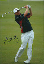 Michael HOEY SIGNED Autograph Photo AFTAL COA Tshwane Open South Africa Golf