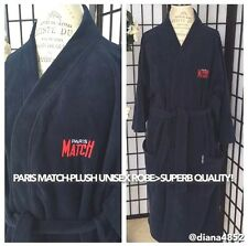 Unisex 1 SZ Plush Bath Robe Dressing Gown-PARIS MATCH Trium Sport-Made In Canada