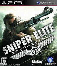 Used PS3 Sniper Elite V2 SONY PLAYSTATION 3 JAPAN JAPANESE IMPORT