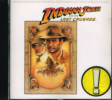 CD album: Indiana Jones and the Last Crusade:John Williams. WB. E